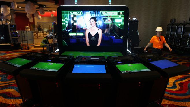 Elektronisches Table Game © Getty Images/ Boston Globe