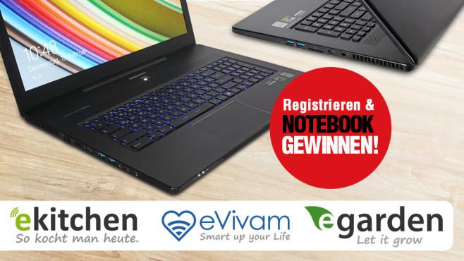 Newsletter für eKitchen, eVivam und eGarden©Medion, eVivam, eGarden, eKitchen