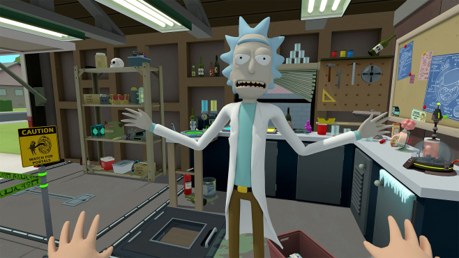 Rick and Morty – Virtual Rick-ality © Adult Swim Games