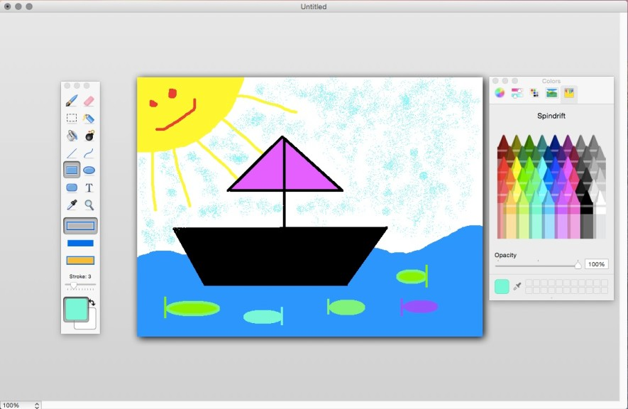 Screenshot 1 - Paintbrush (Mac)