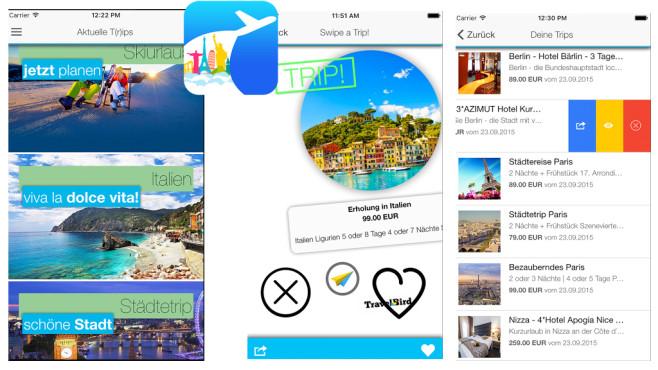 Swipe a Trip ©ASCOMP Software