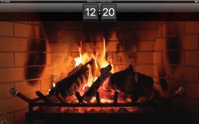 Kamin HD Bildschirmschoner (Mac)
