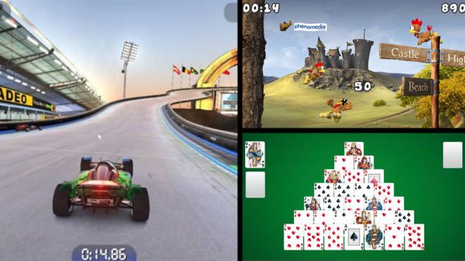 Die beliebesten Download-Games des Monats ©COMPUTER BILD, Nadeo, Phenomedia, Phenomedia