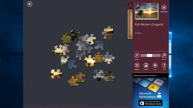 Microsoft Jigsaw ©COMPUTER BILD, Microsoft