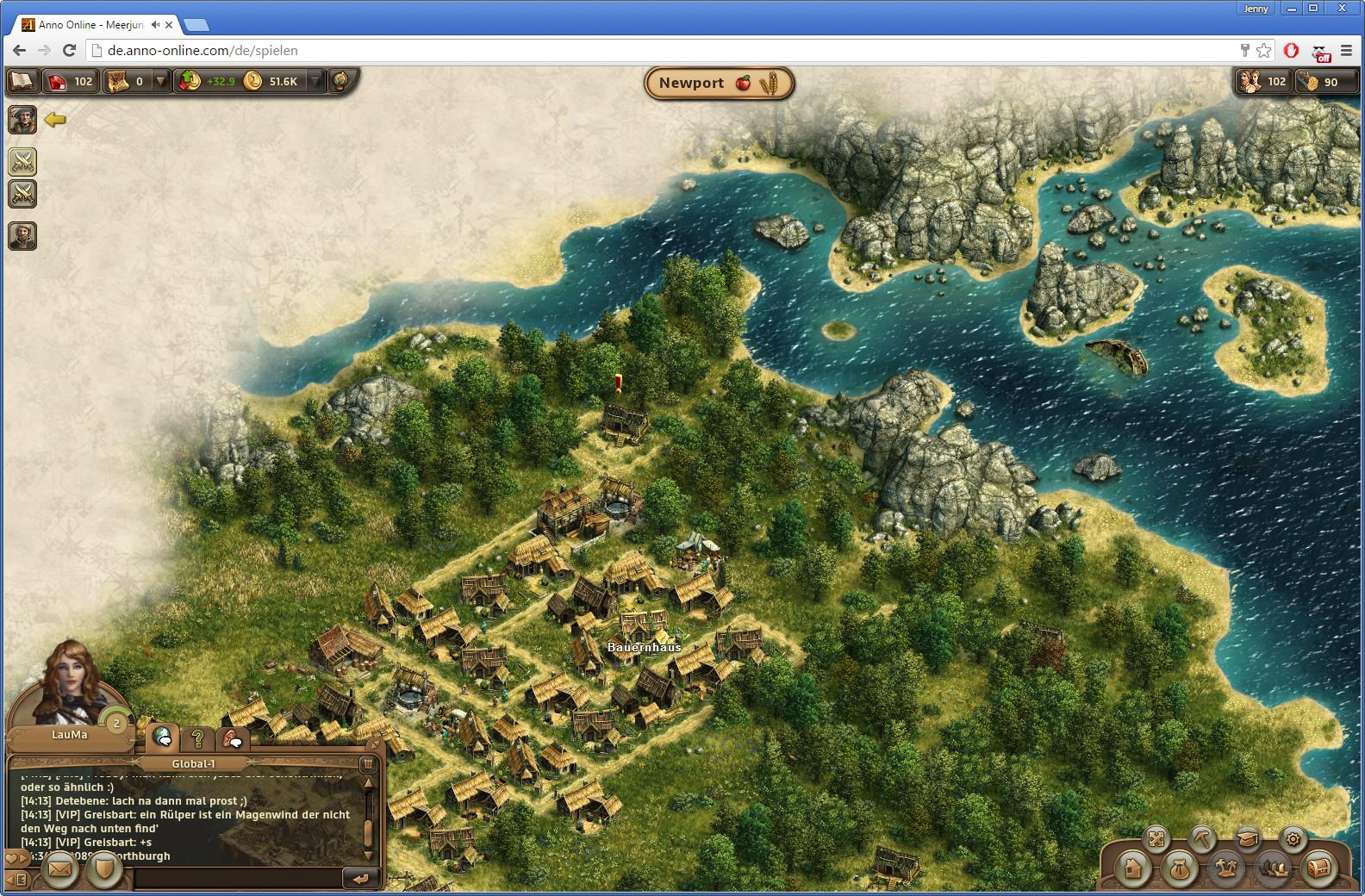 Screenshot 1 - Anno Online