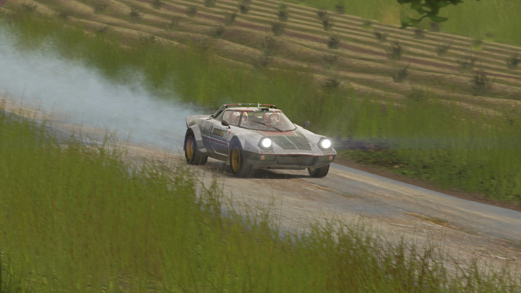 Sébastien Loeb – Rally Evo: Lancia Stratos HF©Bandai Namco