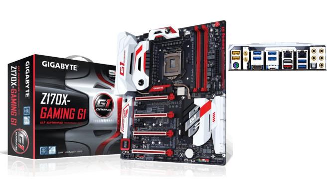 GigaByte GA-Z170X-Gaming G1 ©GigaByte