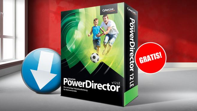 Platz 30: PowerDirector 12 LE – Kostenlose Spezial-Version (neu) ©Cyberlink