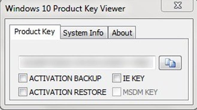 Platz 38: Windows Product Key Viewer (Vormonat: Platz 34) ©COMPUTER BILD