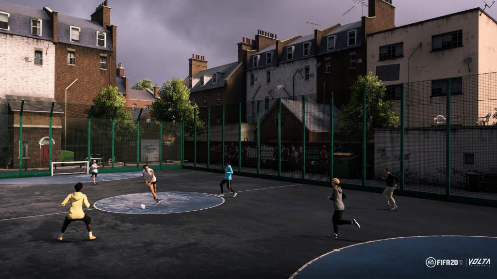 """Der neue """"Volta""""-Modus in Fifa 20 Quelle: EA Sports"""