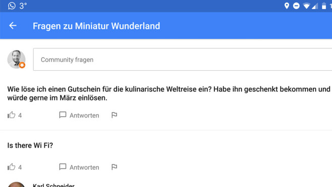 Google Maps: Hilfe ©Google