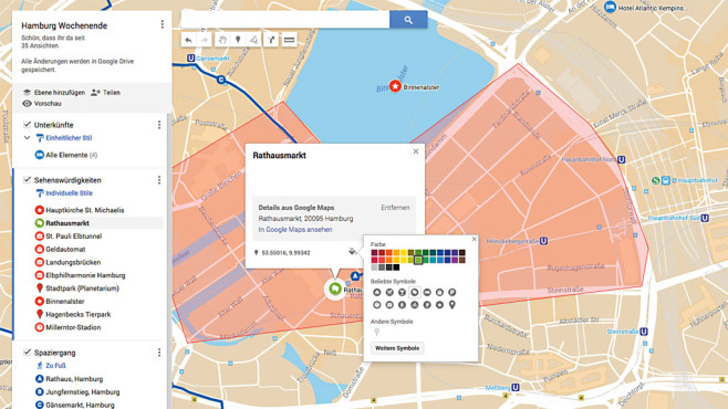 Google Maps: My Maps – eigene Karte erstellen ©Google