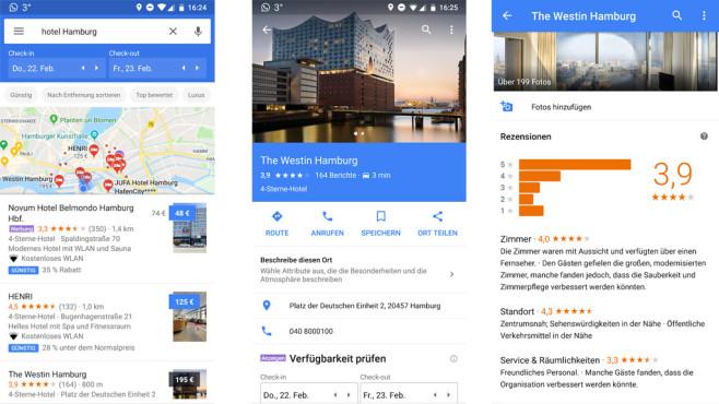 Google Maps: Tolle Orte finden©Google