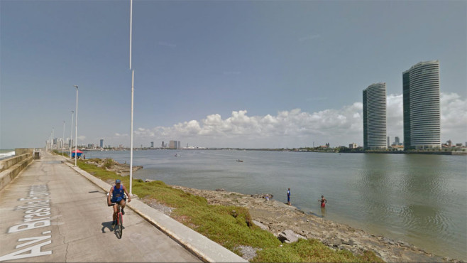 22. Recife (Brasilien) ©Google
