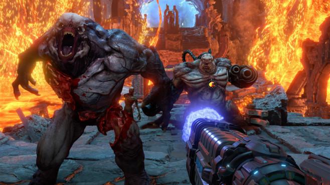 """Bethesda auf der E3 2019: Alle Spiele der Pressekonferenz Den krönenden Abschluss der PK stellte """"Doom Eternal"""" da.©Bethesda"""