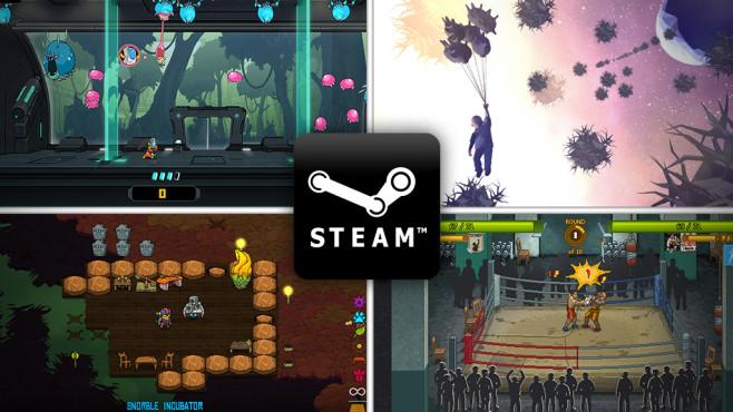 CBS Indies Januar©Numinous Games, Lazy Bear Games,Night School Studio, tinyBuild, Awfully Nice Studios