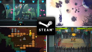 CBS Indies Januar © Numinous Games, Lazy Bear Games,Night School Studio, tinyBuild, Awfully Nice Studios