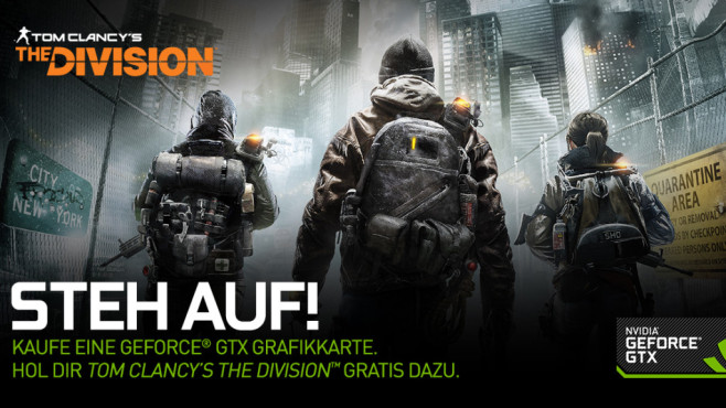 The Division GeForce Bundle©Ubisoft / Nvidia