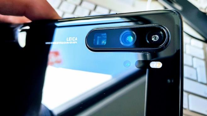 Huawei P30 Pro©COMPUTER BILD / Michael Huch