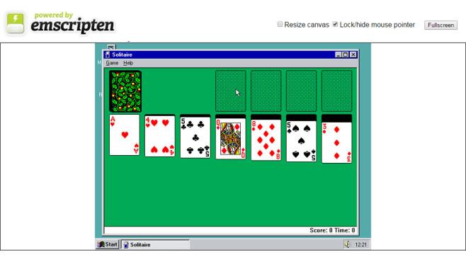 Windows 95 im Browser©COMPUTER BILD
