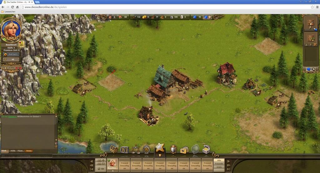 Screenshot 1 - Die Siedler Online