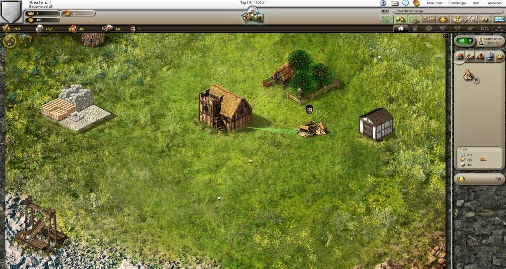 Screenshot 1 - Stronghold Kingdoms