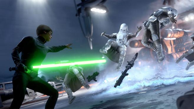 Star Wars – Battlefront: Luke©EA