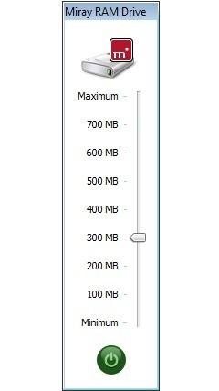 Screenshot 1 - Miray RAM Drive