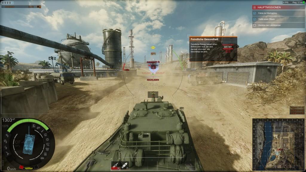 Screenshot 1 - Armored Warfare