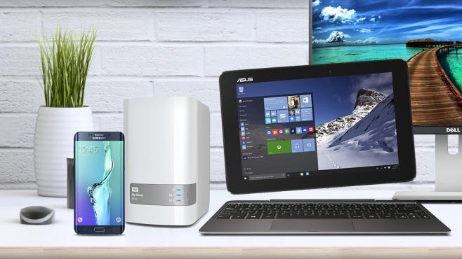 Hardware für Home-Office und Kleinunternehmen©Samsung, Asus, Dell, Western Digital, ©istock.com/AndrejaBudjevac