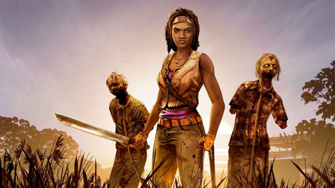 The Walking Dead – Michonne©Telltale Games