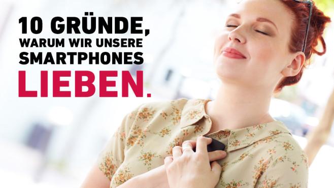 10 Gründe warum wir Smartphones lieben©Tim Robberts/gettyimages