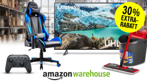 Amazon Warehouse Deals: 30 Prozent Rabatt © Amazon, iStock.com/alvarez