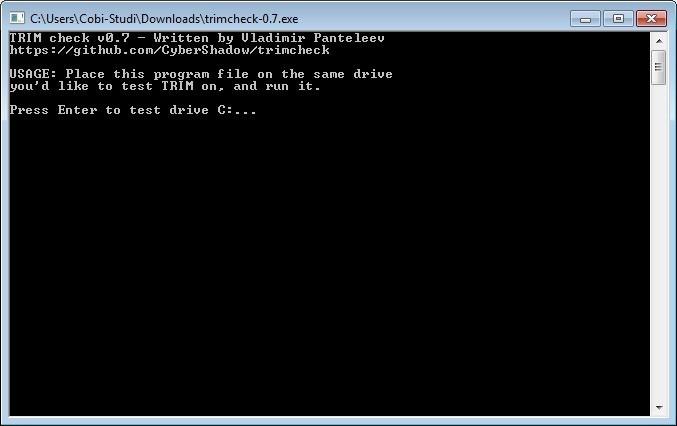 Screenshot 1 - Trimcheck