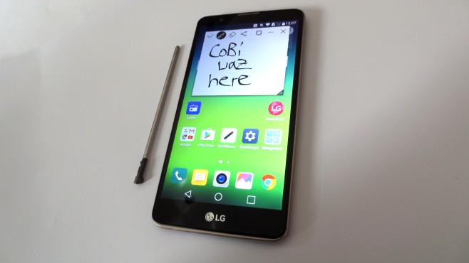 LG Stylus 2©COMPUTER BILD