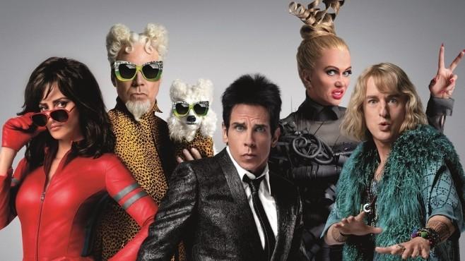 Zoolander 2: Penélope Cruz, Will Ferrell, Ben Stiller, Kristen Wiig, Owen Wilson©Paramount Pictures
