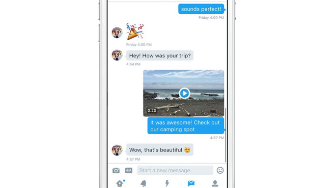 Twitter Videos Nachrichten Screenshot © Twitter