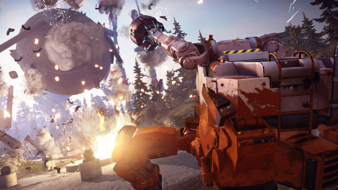 Just Cause 3 - Mech Land Assault © Square Enix