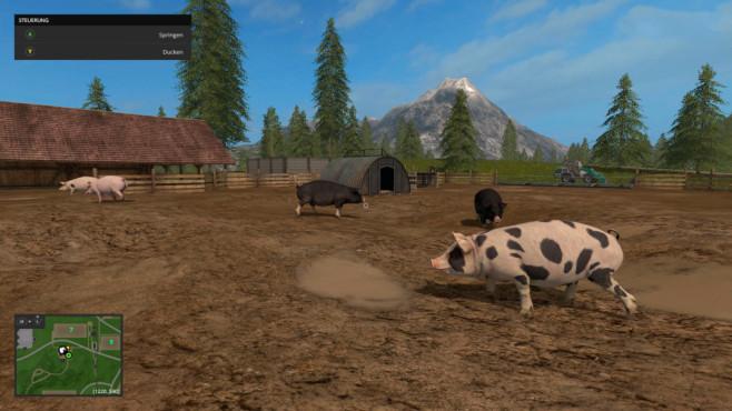 Landwirtschafts-Simulator 17©astragon