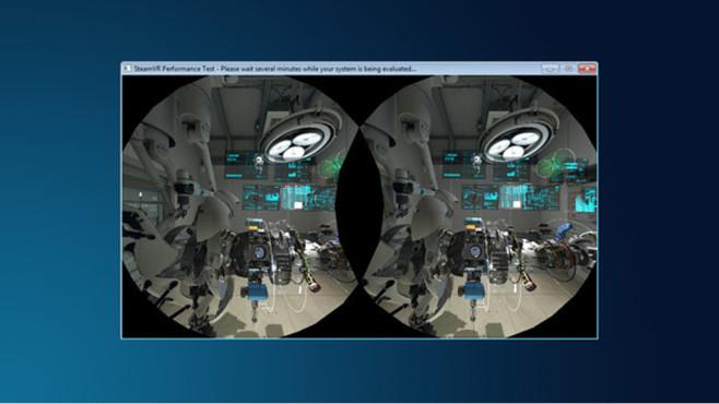 SteamVR Performance Test©Valve - Steam, HTC