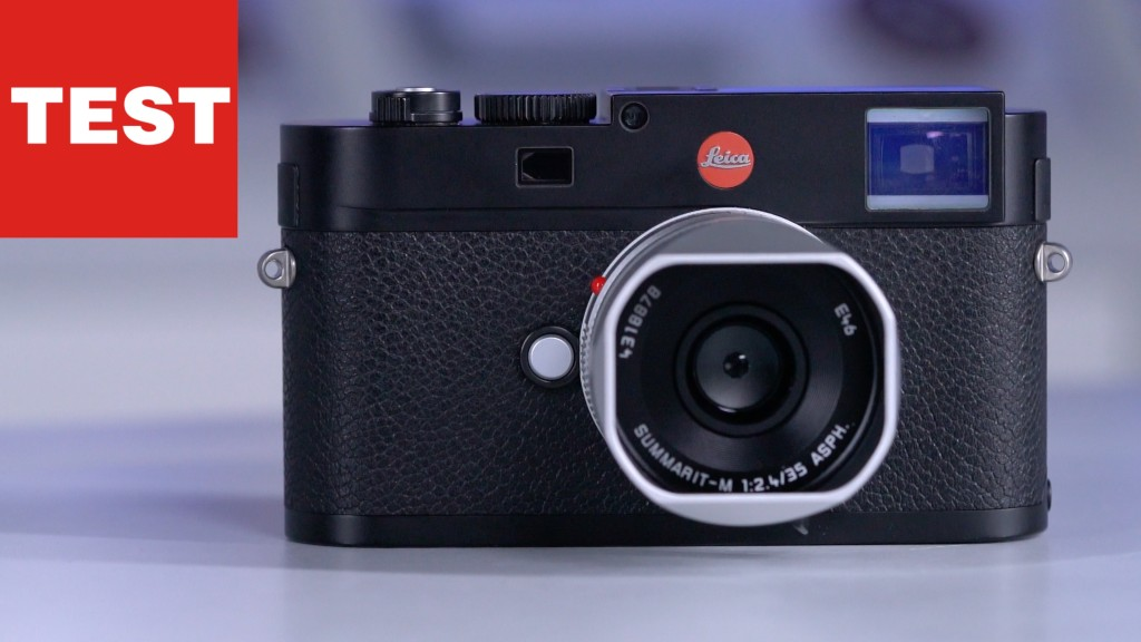 Leica M6 Entfernungsmesser Justieren : Leica m edel kamera im praxis test audio video foto bild