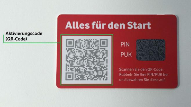 Vodafone startet eSIM in Deutschland©Vodafone