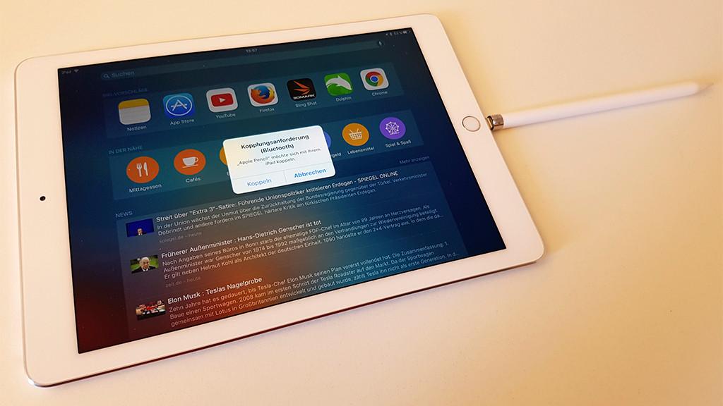 apple ipad pro 9 7 test preis news computer bild. Black Bedroom Furniture Sets. Home Design Ideas