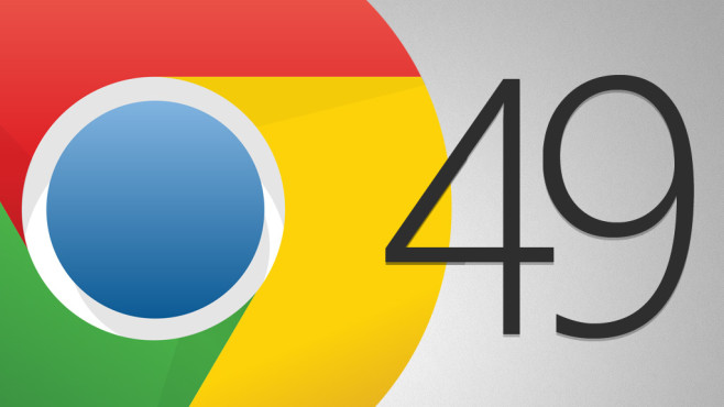 Google Chrome 49 © Google