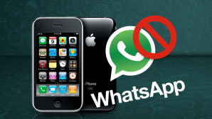 WhatsApp © WhatsApp, Apple