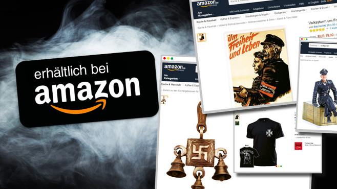 Amazon bietet Nazi-Schund zum Verkauf an©Amazon