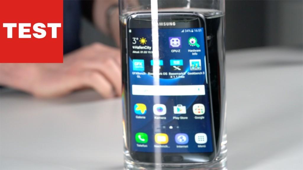 Samsung Galaxy S7 und S7 Edge: Wirklich wasserdicht ...