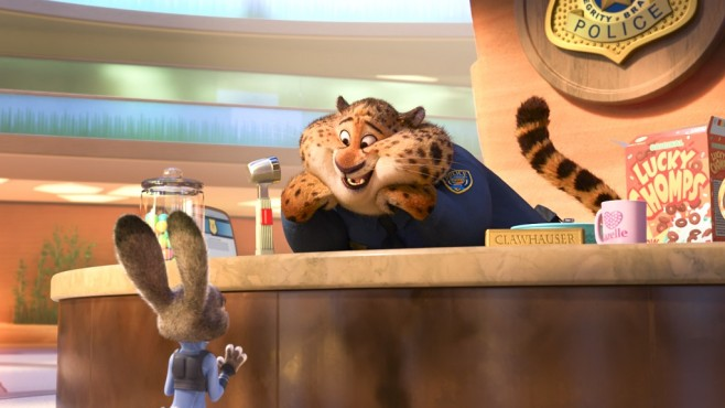 Zoomania: Benjamin Clawhauser © Disney