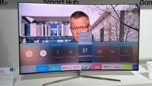 Samsung Smart Hub 2016©COMPUTER BILD
