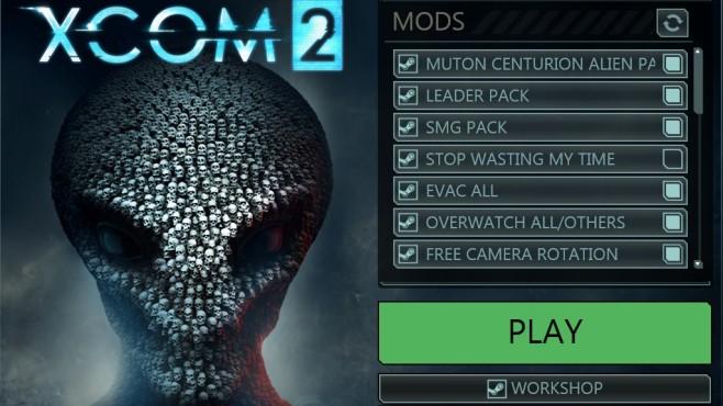 Xcom 2 Startmenü©2K/Firaxis